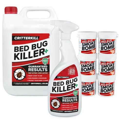 Complete Bed Bug Killer Treatment Kit | 6 Room