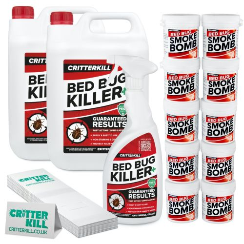 Complete Bed Bug Killer Treatment Kit | 10 Room