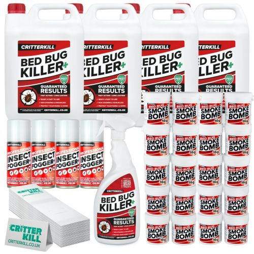 critterkill bed bug professional kit