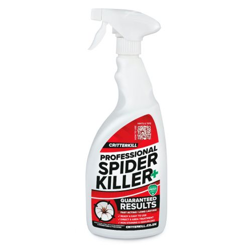 CritterKill Spider Killer Spray - 1 Litre