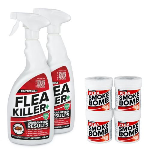 Complete Home Flea Killer Treatment Kit |  2 Room