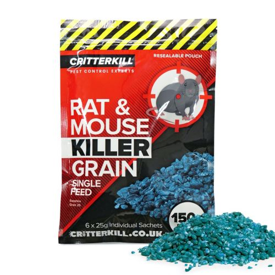mouse & rat killer grain